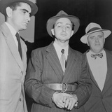 Harry Gold under Arrest for Spying in 1950