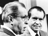 President Richard Nixon with His Rejected Nominee for Supreme Court