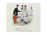 Mes Campagnes  1896  Recruits Assigned to Tasks According to their Skills