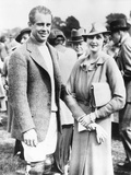 Barbara Hutton  with Her First Husband  Georgian Prince Alexis Mdivani