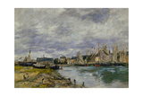 Harbor of Trouville  1891
