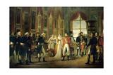 Napoleon Receives Senators and Declares Himself Emperor  May 18  1804