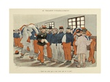 Military Illustration in My 28 Days  1896  Soldiers at the Clothing Store