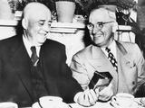 President Harry Truman Wishes House Speaker  Sam Rayburn  a Happy 68th Birthday