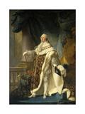 Portrait of Louis XVI  in Coronation Robe 1786