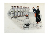 Mes Campagnes  1896  Recruits Drill-Squad Is Standing at Attention
