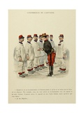 Military Illustration in My 28 Days  1896  Conference of the Captain