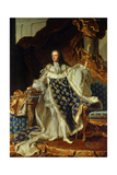 King Louis XV of France in Coronation Robe 1730