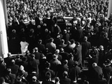 Inauguration of John Kennedy at East Portico  US Capitol Building