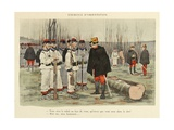 Military Illustration in My 28 Days  1896  Soldiers in Orientation Exercise
