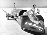Walter Arfons  Drag Racer with the 'Wingfoot Express' in 1964