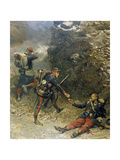 Battle of Champigny  the Bottom of the Cartridge Pouch