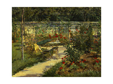 My Garden the Bench  1883