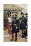 Full Length Portrait of Napoleon III at the Chalons Camp