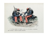 Mes Campagnes  1896  the Problem of Shoes in the Infantry