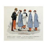 Mes Campagnes  1896  Major Doctor and His Male Nurse with Sick Soldiers