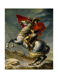 Napoleon Bonaparte Crossing the Grand Saint-Bernard Pass  May 20 1800