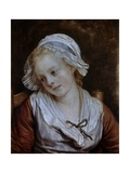 Portrait of a Young Girl Ca 1750-90