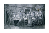 Wedding Banquet During the French Revolution  Ca 1789-1794