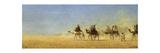 Caravan Crossing the Desert