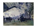 Arrival of the Normandy Train  Gare Saint-Lazare  1877