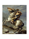 Napoleon Crossing the Alps at the St Bernard Pass  May 20  1800