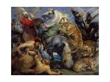 The Tiger Hunt  1616