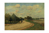 The Road of Mantes  1874