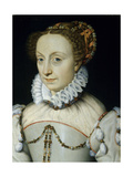 Jeanne D'Albret  Queen of Navarre  Ca 1555