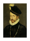 Portrait of Charles IX  King of France Ca 1570