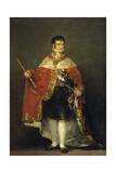 Ferdinand Vii in Court Dress  1814-1815