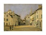 Rue De La Chaussee at Argenteuil  1872