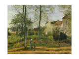 Houses at Bougival (Autumn)  1870