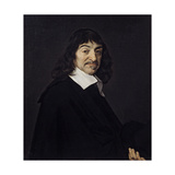 Portrait of Rene Descartes Philosopher Ca 1640