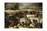 French Army Crossing Grand Saint Bernard Pass  May 20  1800 Charles Thevenin 1806