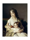 Madame Boyer Fonfrede and Her Son Henri  1796