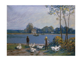 On the Banks of the Loing  19th C