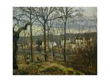 Winter Landscape in Louveciennes  1870