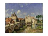 The Bridge at Moret  1893
