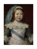 Future French King Louis XIV (1638-1715) as a Child  1641