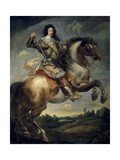Equestrian Portrait of King Louis XIII of France