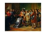 Recognition of Duke of Anjou as Philip V  King of Spain  Nov 16  1700