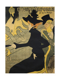 Jane Avril  French Singer and Dancer Lithography by Henry Toulouse-Lautrec  1893