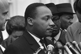 Only Two Weeks Since Jfk's Assassination  Martin Luther King  Met with President Lyndon Johnson