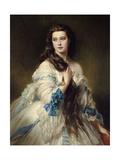 Portrait of Mrs Rimsky Korsakov  1864