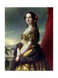 Portrait of Mrs Manuel  Countess of Gramedo 1863