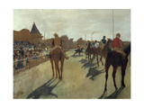 The Parade  also known as Race Horses in Front of the Tribunes  Ca 1866-68