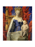 Agnes Sorel as Madonna with Child