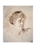 Elderly Man Wearing Turban  Ca 1755-1806
