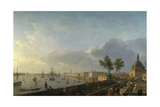 Bordeaux Harbor and the City Walls